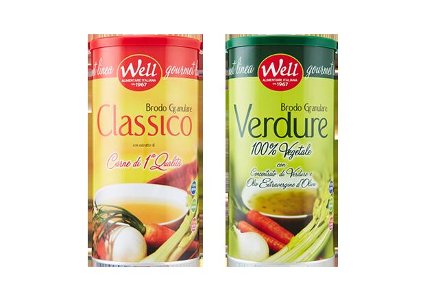 Immagine della categoria di prodotto Well Brodo Granulare Gourmet