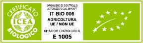Immagini delle certificazioni bio
