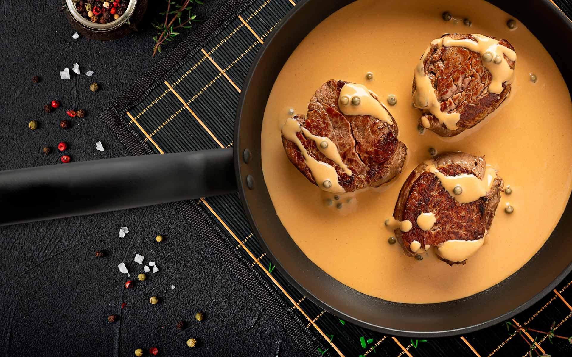 Immagine della ricetta Filetto al Pepe Verde