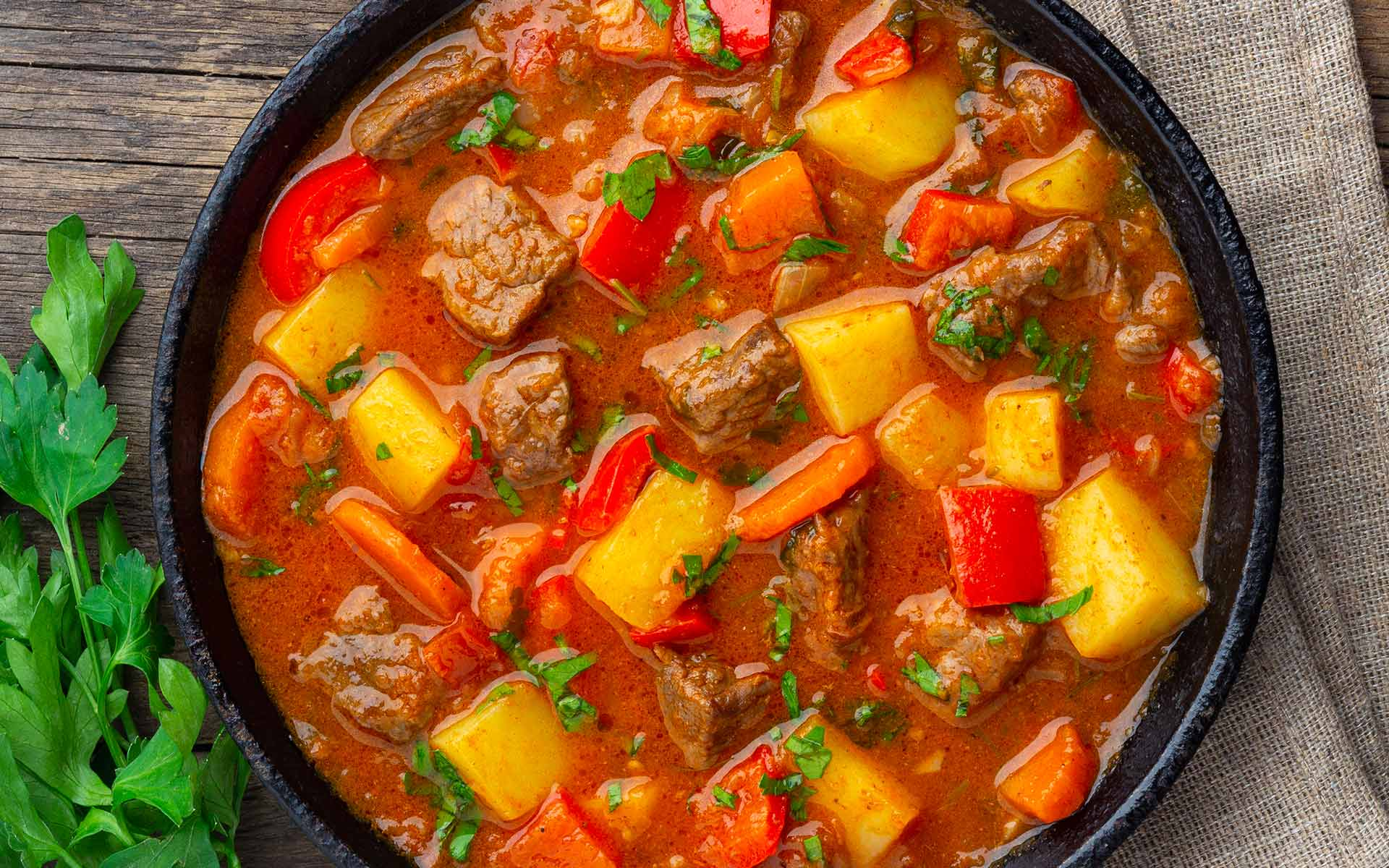 Immagine della ricetta Gulasch di Manzo
