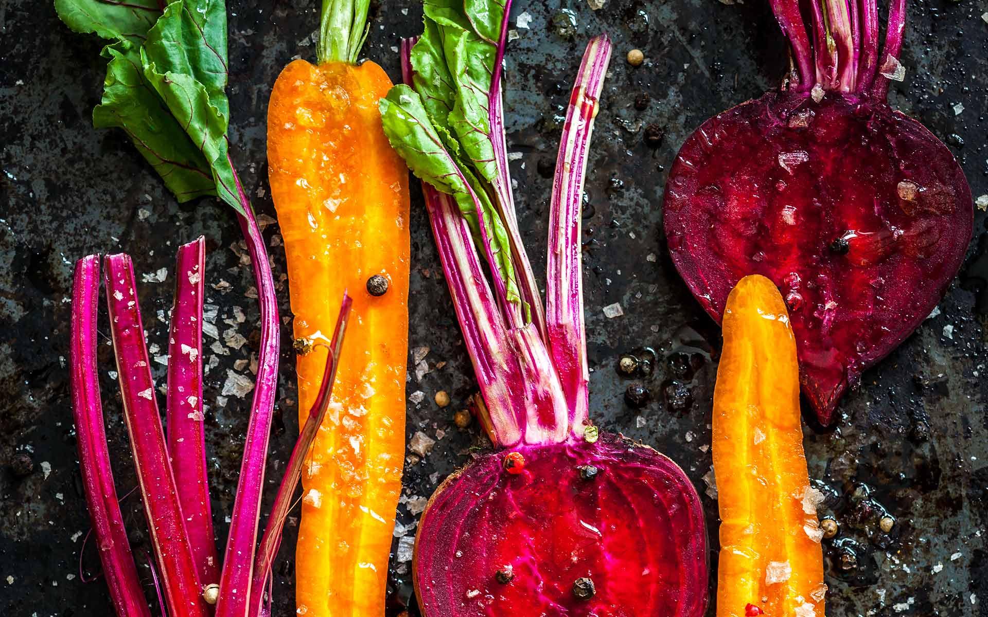 Immagine di verdure utilizzate per gli insaporitori innovativi di Well