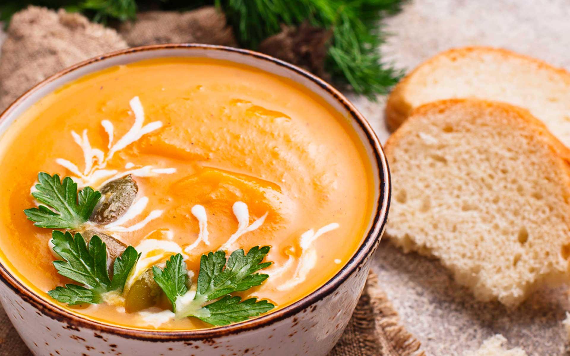 Immagine della ricetta Vellutata di Zucca e Porri