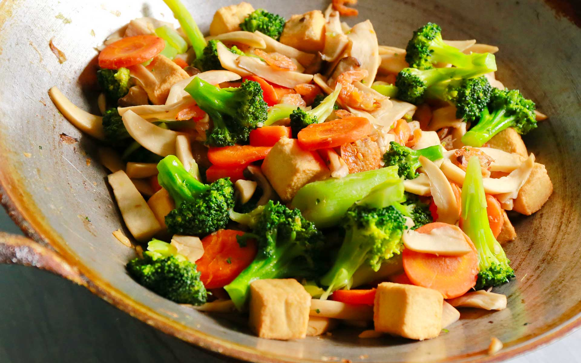 Immagine della ricetta wok di verdure e tofu