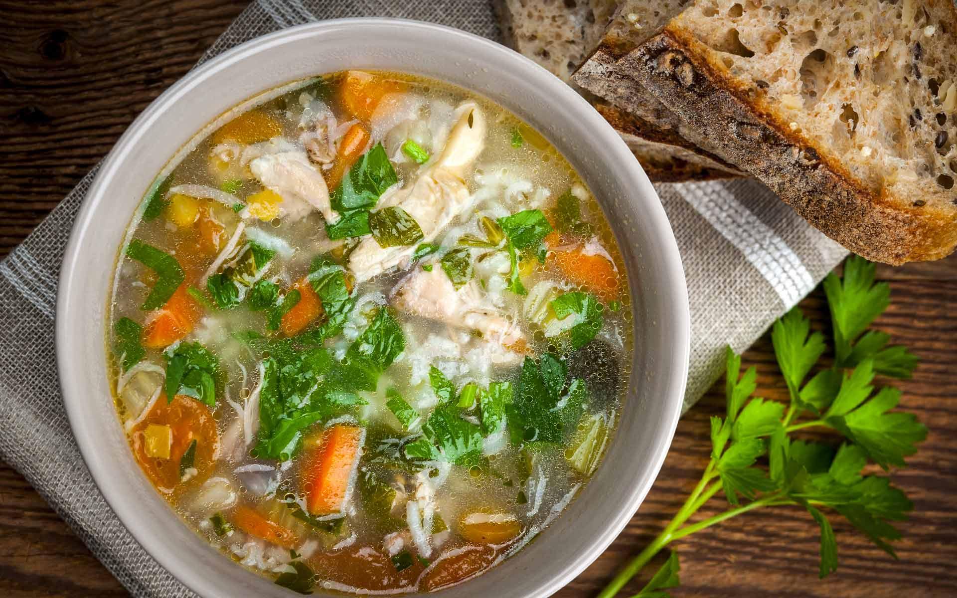 Immagine della ricetta Zuppa di Verdure e Pollo